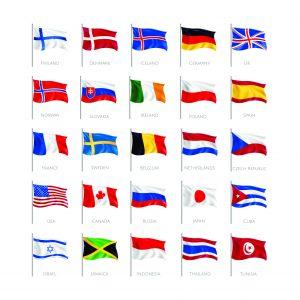 Bendera dan Stempel