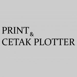 Print / Cetak Plotter